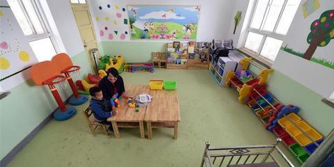 甘肃静宁一个孩子的幼儿园