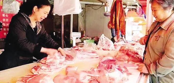 猪肉市场价格实现近一个月来首降