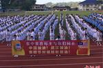 马来西亚3000中学学生为中国抗疫加油打气