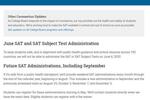 疫情未见好转 美大学理事会宣布取消6月SAT考试