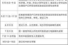 北京海淀區2020年義務教育階段入學工作實施意見