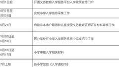 顺义区发布关于2018年义务教育阶段入学工作意见