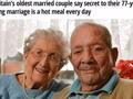 四个字让他们的婚姻保持77年