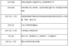 重磅!北京延慶區2020年義務教育入學實施細則發布