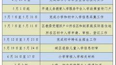 【权威发布】密云区2018年义务教育阶段入学工作意见