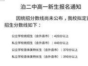 2018年河北沧州中考分数线正式公布
