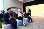 联合国教科文组织参观好未来 多国教育领导探智慧课堂