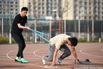 上海高招体育专业统考25日举行 测毕立即戴口罩
