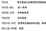 北京高考各时间节点明确7月25日发布成绩