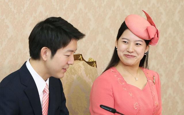 日本少夫如�_日本绚子公主与未婚夫宣布订婚