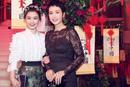 马思纯和蒋雯丽一起出席活动