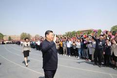 Xi stresses building world-class universities to serve nation in visit to Tsinghua