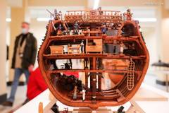 Models of ships, vessels presented during Russian Championship in Moscow
