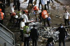 Many killed and injured in stampede at Israeli religious festival