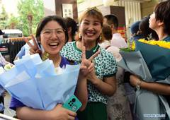 Annual college entrance exam concludes in some parts of China