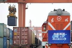 First cross-border e-commerce freight train links Hamburg, Xi'an