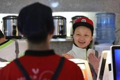 Beverage stalls in Guiyang offer jobs, training opportunities for deaf, blind students