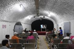 Air-raid shelters opened for citizens to shield from heat in Hangzhou