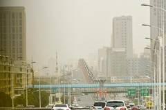 Sandstorm hits Urumqi