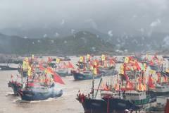Fishing season begins in East China Sea