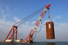 In pics: construction site of Hong Kong-Zhuhai-Macao Bridge