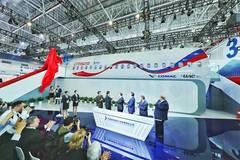 Prototype of CR929 debuts at Airshow China
