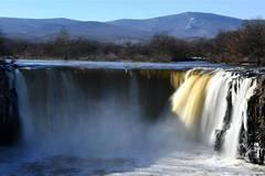 Scenery of Diaoshuilou Waterfall in NE China's Heilongjiang