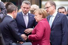 EU leaders arrive in Brussels for two-day EU Summit