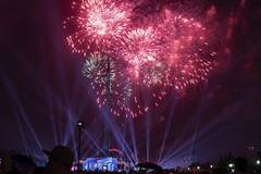 In pics: fireworks during Victory Day celebrations in Moscow, Russia