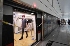 Beijing's new airport metro line enters trial operation