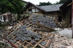 Aftermath of SW China earthquake
