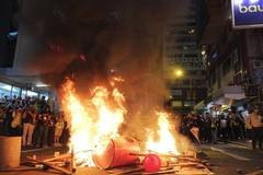 Escalating violence in Hong Kong takes heavy toll on social order