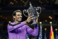 Nadal wins men's singles final at US Open