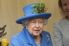 Queen Elizabeth II opens new housing development for veterans in London