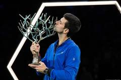 Novak Djokovic wins Rolex Paris Masters