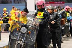 Gas stations bring convenience to homebound motorcyclists in Fujian