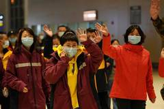 8th batch of medical team from Heilongjiang leaves for Hubei