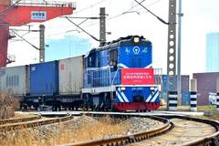 China-Europe freight train departs from Xi'an
