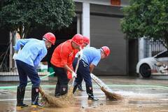 Pingjiang County in China's Hunan hit by torrential rains