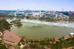 Garden expo held in Handan, Hebei