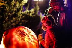 Highlights of Chicago Botanic Garden's Night of 1000 Jack-O'-Lanterns