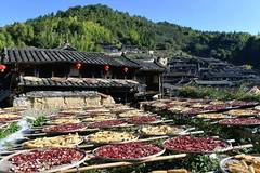 Scenery of Guifeng Village in Sanming City, Fujian