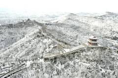 Snow scenery in Yan'an, Shaanxi