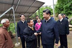 President Xi makes inspection tour in Anhui