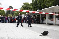 Suspect bag causes security alert during French Open tennis tournament