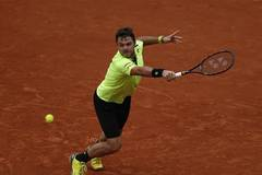 Highlights of French Open tennis tournament on Day 8