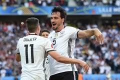 Germany beats Slovakia 3-0 during Euro 2016