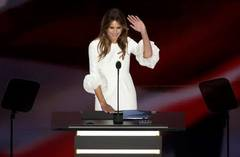 Melania Trump convention speech similar to Michelle Obama's from 2008