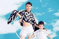Actress Hu Jing, her son cover fashion magazine