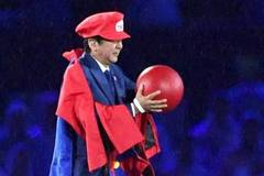 Japanese prime minister Abe wows Rio finale as Super Mario